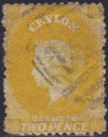 Ceylon      .   SG      .    64ax  Thin Spot        .   O      .       Cancelled      .   /    .   Gebruikt - Ceylon (...-1947)