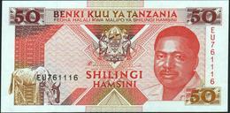 TANZANIA - 50 Shilingi Nd.(1993) AU-UNC P.23 - Tanzania