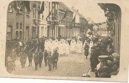 FOTOKAART NINOVE   Bevrijdingsfeesten 1919 - Ninove