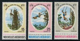 Nouvelles Hébrides // 1960-1980 // 1969 // Le Saut Du Gaul Timbres Neufs** MNH No. Y&T 286-288 - Neufs
