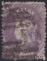 Ceylon      .   SG      .     71       .         O      .       Cancelled      .   /    .   Gebruikt - Ceylon (...-1947)