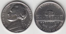 U.S.A. 5 Cents 1984 (Jefferson) Km#192 - Used - Emissioni Federali