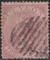 Ceylon      .   SG      .     62a    .         O      .       Cancelled      .   /    .   Gebruikt - Ceylon (...-1947)