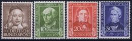 Bundespost: Mi 117 - 120 Postfrisch/neuf Sans Charniere /MNH/**   1949 - [7] Repubblica Federale