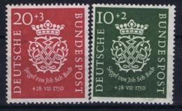 Bundespost: Mi 121 - 122 Postfrisch/neuf Sans Charniere /MNH/**   1950 20 Pf Signiert - [7] Repubblica Federale