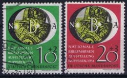 Bundespost: Mi 141 - 142 Obl./Gestempelt/used   1951 - Usati