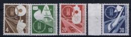 Bundespost: Mi 167 - 170  Postfrisch/neuf Sans Charniere /MNH/** 1953 - Ungebraucht