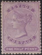 Ceylon  .   SG   .    48b      .       *      .      Mint-hinged       .   /    .  Ongebruikt - Ceylon (...-1947)