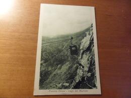 Cartolina  FUNIVIA OROPA   LAGO DEL MUCRONE - Funicular Railway