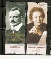 Portugal & Grandes Músicos Do Mundo, Jean Sibelius E Elisabeth  Schwarzkopf 2015 - 1910 - ... Repubblica