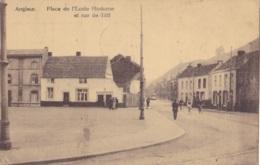 Angleur Place De L'Ecole Moderne Et Rue De Tilff Circulée En 1929 - Luik