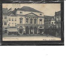 Europe-Belgique-MONS-Une Vue Animée Du Theatre - Mons