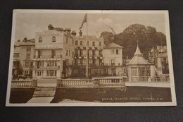 Carte Postale 1917 GB Royal Marine Hotel COWES - Autres