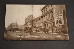 Carte Postale 1910 Maidstone Post Office Hight Street Bazar Attelage - England