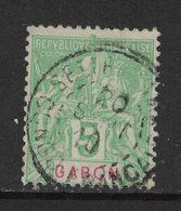 Gabon - Yvert 19 Oblitéré SETTE-CAMA - Scott#19 - Gabon (1886-1936)