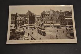 Carte Postale 1912 GB Market Street Nottingham - Nottingham