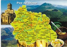 Carte Géo: Edit: 2005 DEBAISIEUX N° C63/510  PUY DE DOME - France