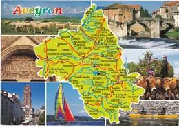 Carte Géo: Edit: 1997 DEBAISIEUX N° C12/104   AVEYRON - France