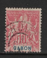 Gabon - Yvert 20 Oblitéré ACHOUKA - Scott#20 - Gebruikt