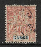 Gabon - Yvert 26 Oblitéré SAM KITA - Scott#26 - Gebruikt