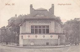 Wien 9: Zimmermannplatz - Säuglings Schutz, 1925 In USA Gelaufen !!! - Vienna