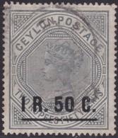Ceylon      .   SG      .   254     .   O      .       Cancelled      .   /    .   Gebruikt - Ceylon (...-1947)