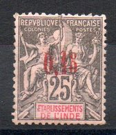 INDE - YT N° 22 Signé North - Neuf * - MH - Cote: 150,00 € - Indien (1892-1954)