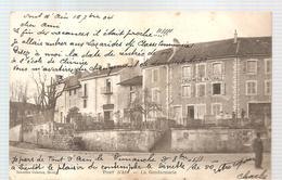 CPA Pont D'Ain (01) La Gendarmerie De 1904 - Other Municipalities
