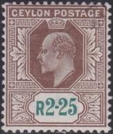 Ceylon      .   SG      .    276        .   O      .       Cancelled      .   /    .   Gebruikt - Ceylon (...-1947)