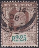 Ceylon      .   SG      .    288        .   O      .       Cancelled      .   /    .   Gebruikt - Ceylon (...-1947)