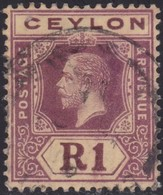 Ceylon      .   SG      .    315a       .   O      .       Cancelled      .   /    .   Gebruikt - Ceylon (...-1947)