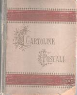 ALBUM CARTOLINE POSTALI FORMATO PICCOLO DEI PRIMI DEL '900 IN BUONE CONDIZIONI - Supplies And Equipment