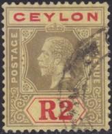 Ceylon      .   SG      .    316d      .   O      .       Cancelled      .   /    .   Gebruikt - Ceylon (...-1947)