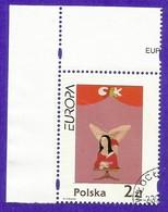 Polen / Polska  2002  Mi.Nr. 2972 , EUROPA CEPT Zirkus - Gestempelt / Fine Used / (o) - 2002