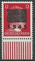 Netzschkau-Reichenbach (Sachsen) Freim. Hitler Mit Aufdruck 8 II B UR Postfrisch - Unclassified