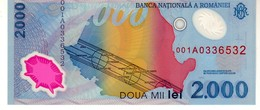 Romania P.111 2000 Lei  1999 Unc - Romania