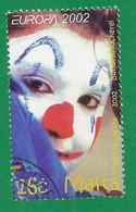 Malta  2002  Mi.Nr. 1216 , EUROPA CEPT Zirkus - Gestempelt / Fine Used / (o) - 2002