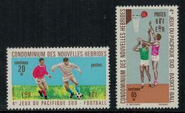 Nouvelles Hébrides // 1960-1980 // 1971 // Jeux Du Pacifique Sud Timbres Neufs** MNH No. Y&T 308-309 - Légende Française
