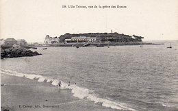 L ' Ile Tristan (Douarnenez) - Vue De La Grève Des Dames - Douarnenez