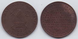 PERU - BRONZE MEDAL SOLANO MUENTE ORDAINED BISHOP AYACUCHO - 1936 - Peru