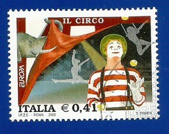Italien / Italia  2002  Mi.Nr. Block 53 (3078) , EUROPA CEPT Zirkus - Gestempelt / Fine Used / (o) - 2002