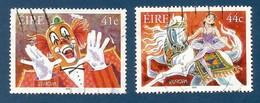 Irland  2002  Mi.Nr. 1432 / 1433 , EUROPA CEPT Zirkus - Gestempelt / Fine Used / (o) - 2002