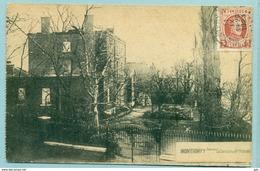 Montigny Sur Sambre (Montignies) Château Pierard - Voyagé 1923 - TB - Charleroi