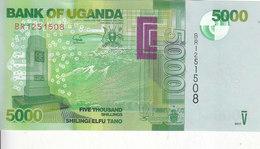 UGANDA 5000 SHILLINGS 2017 P-51 NEW UNC */* - Oeganda