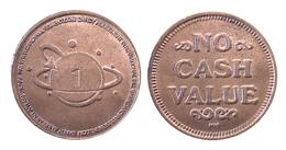 04401 GETTONE TOKEN JETON FICHA ARCADE DANDY AMUSEMENT INTERNATIONAL INC. - USA