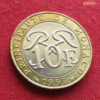 Monaco 10 Francs 1997 KM# 163 - Monaco