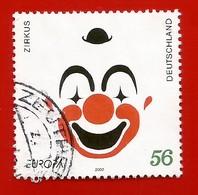Deutschland / Germany  2002   Mi.Nr. 2252 , EUROPA CEPT - Zirkus - Gestempelt / Fine Used / (o) - 2002