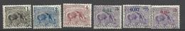 Guyane N° 49  à 51  Et N° 92 à  94  Tapir   Neufs * B/ TB .......   Soldé   à Moins De 20  % ! ! ! - Unused Stamps