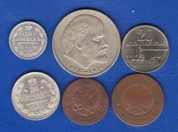 Russie  6  Pieces - Russie