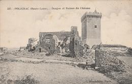 CPA - POLIGNAC (Haute Loire) - Donjon Et Ruines Du Chateau - Francia
